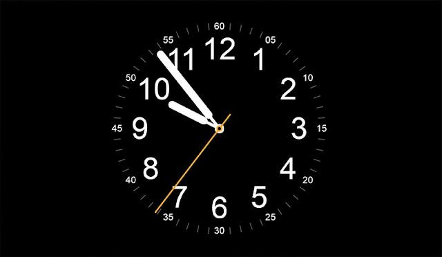 Apple Watch Clock Wallpaper Engine