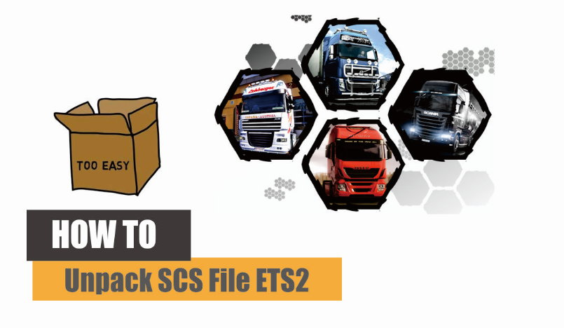 SCS File, SCS, ETS 2, SCS Ekstractor