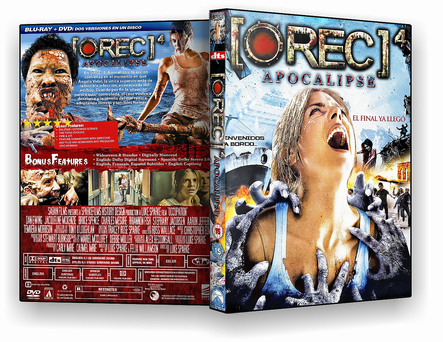 CAPA DVD – Rec 4 Apocalipse – ISO