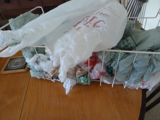 I Use Cloth Bags When Ing Groceries But Still Have An Over Abundance Of Plastic Which Do Eventually Re For Garbage