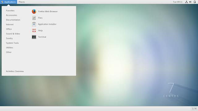 CentOS Desktop Image