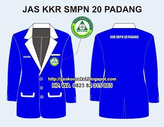 JAS ALMAMAER KKR SMPN 20 PADANG DI PESAN PENGURUS KKR SMPN 20 PADANG