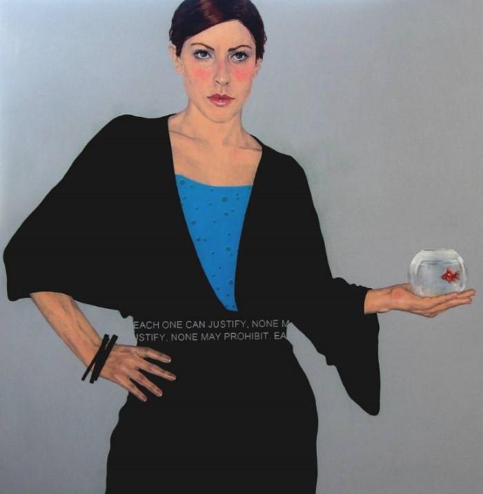 Плоские и однотонные цвета. Barbara Bonfilio
