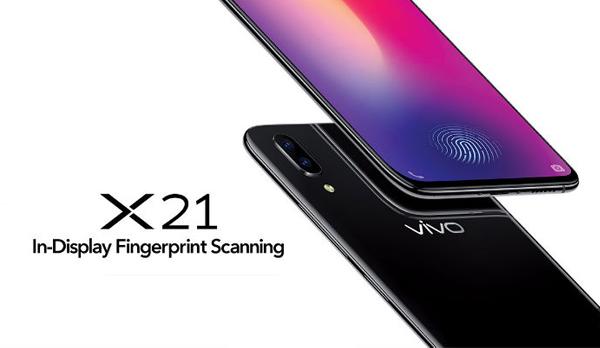 Vivo X21 smartphone - Philippines
