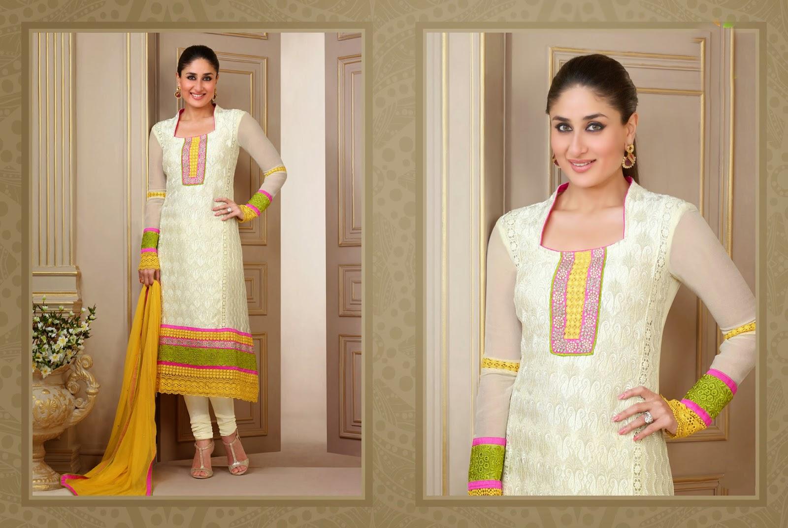 Kareena Kapoor in Designer Salwar Kameez 2014 - Vega ...