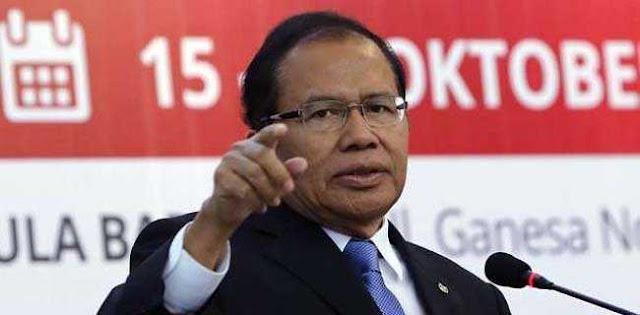 Rizal Ramli: Trisakti Dan Nawacita Jokowi Hanya Slogan Kampanye