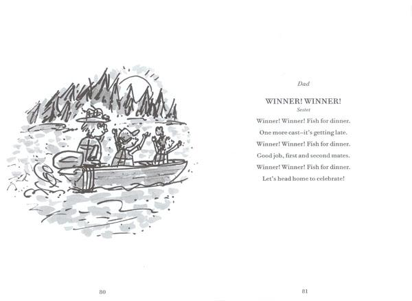 Gone Fishing : A Novel in Verse by Tamera Will Wissinger