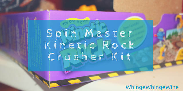 Spin Master Kinetic Rock Crusher Kit review