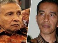 Kemarahan Amien Rais: Bung Jokowi, Selesaikan Skandal Ahok!
