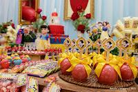 Aniversário de 1 ano da Barbara realizado no Buffet Infantil Little Tiger em Mogi das Cruzes-SP Teve o Tema da Branca de Neve e o Sete anões, Doces Personalizados