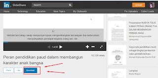 Cara download dan cetak dokumen dari slide share