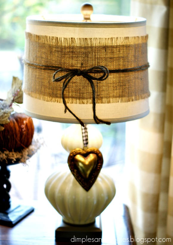 My Fall Decor - Dimples and Tangles