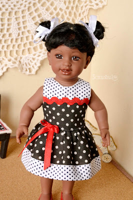 мини Адора Маккензи, одежда для кукол