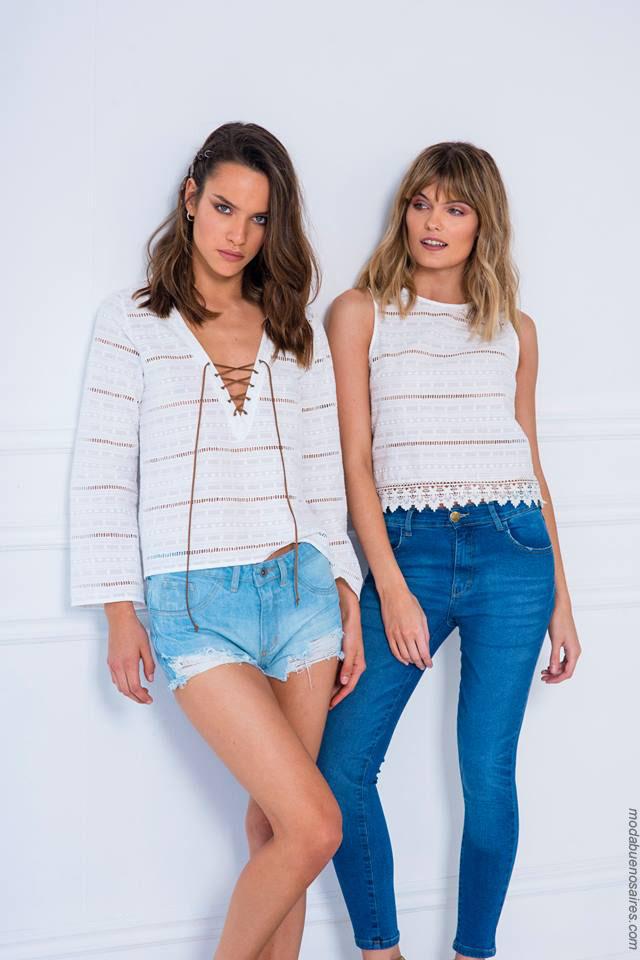 Moda verano 2018 ropa de moda para mujer verano 2018.