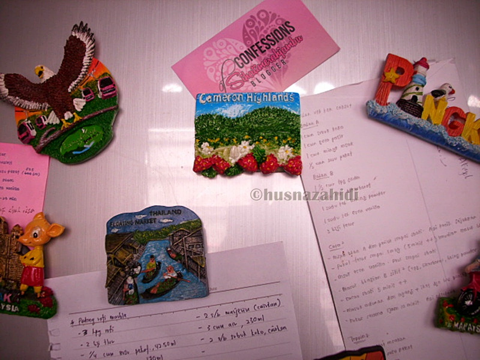 fridge magnet, Cameron Highlands