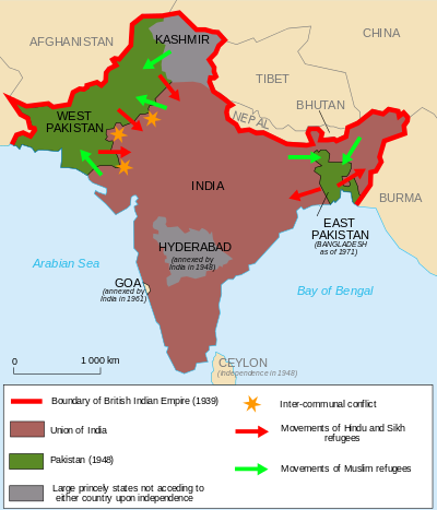 Map Of India And Pakistan Border.How Did India Pakistan Border Come To Be Elixir Of Knowledge