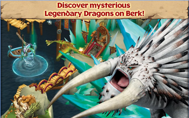Download Game Dragons Rise of Berk V1.24.10 MOD APK