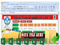 Aplikasi Raport Kurikulum 2013 SD Revisi 2017-2018