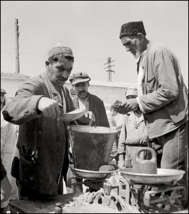 Базар в Симферополе, 1943 год
