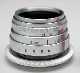 Lensa Fix Mirrorless Sony E Mount 25mm f1.8