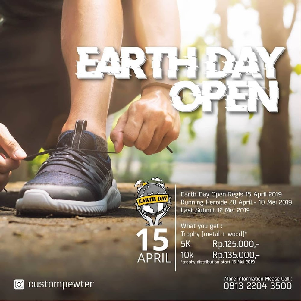 Earth Day Virtual Run 2019