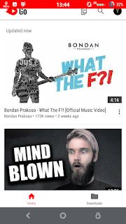 cara menggunakan youtube go