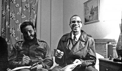 Fidel Castro y Malcolm X