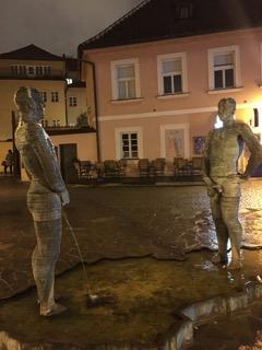 prague czech republic wanderlust travelblog europe peeing fountains david cerny
