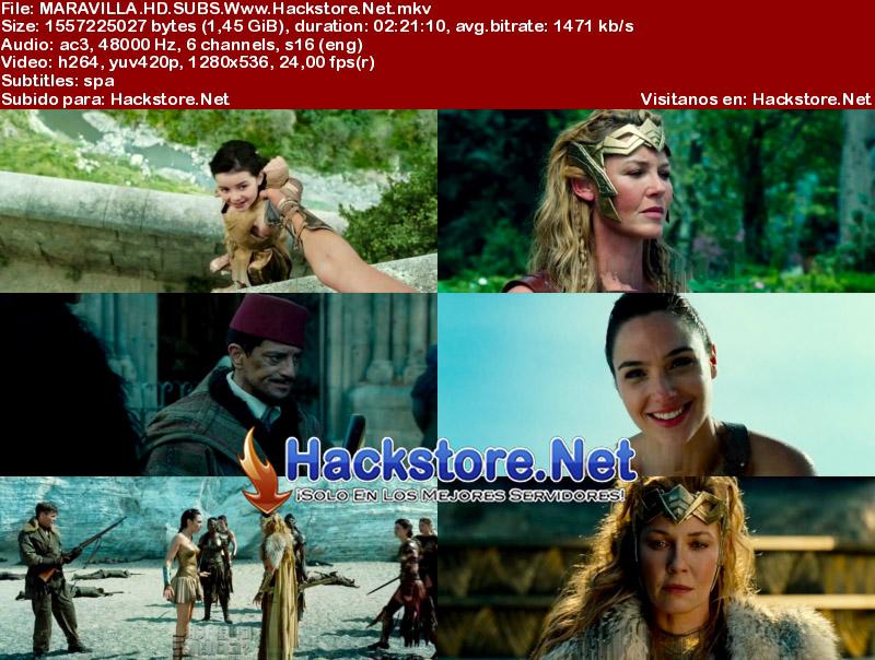 Capturas de La Mujer Maravilla (2017) HD Subtitulada