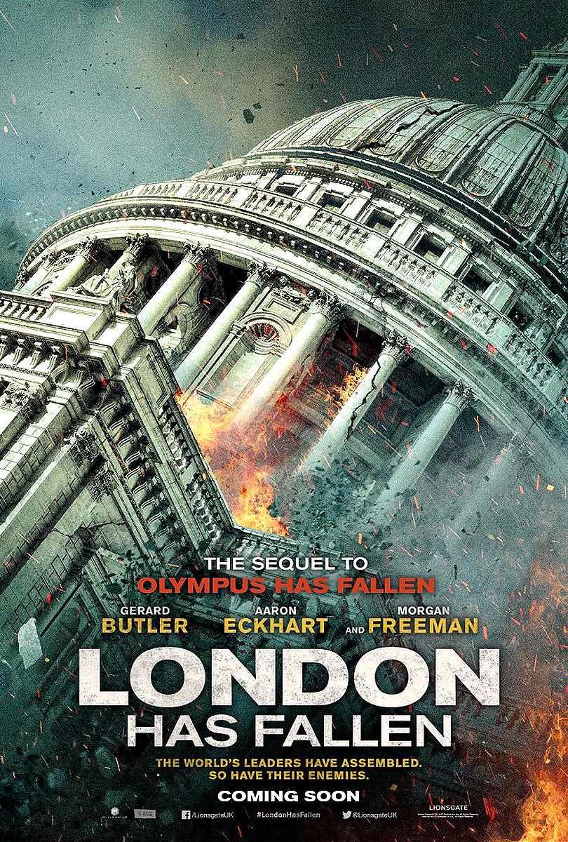 londyn w ogniu film recenzja butler eckhart freeman