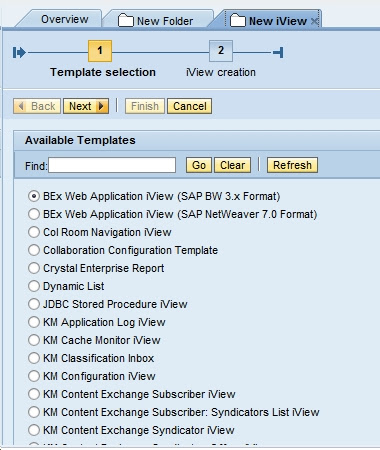 How to create a URL IView in SAP EP