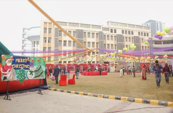 Christmas Carnival at Global Indian International School, Sector 71, Noida