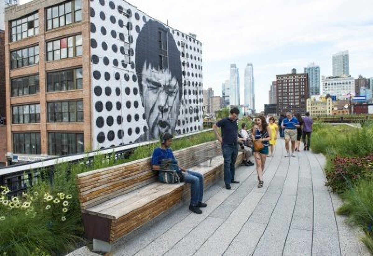 High Line Check Out This Beautiful Aerial Greenway In New