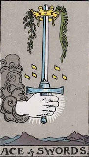 The Ace of Swords, RWS