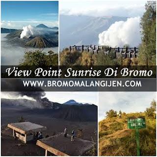 Tempat Melihat Sunrise Di Wisata Gunung Bromo