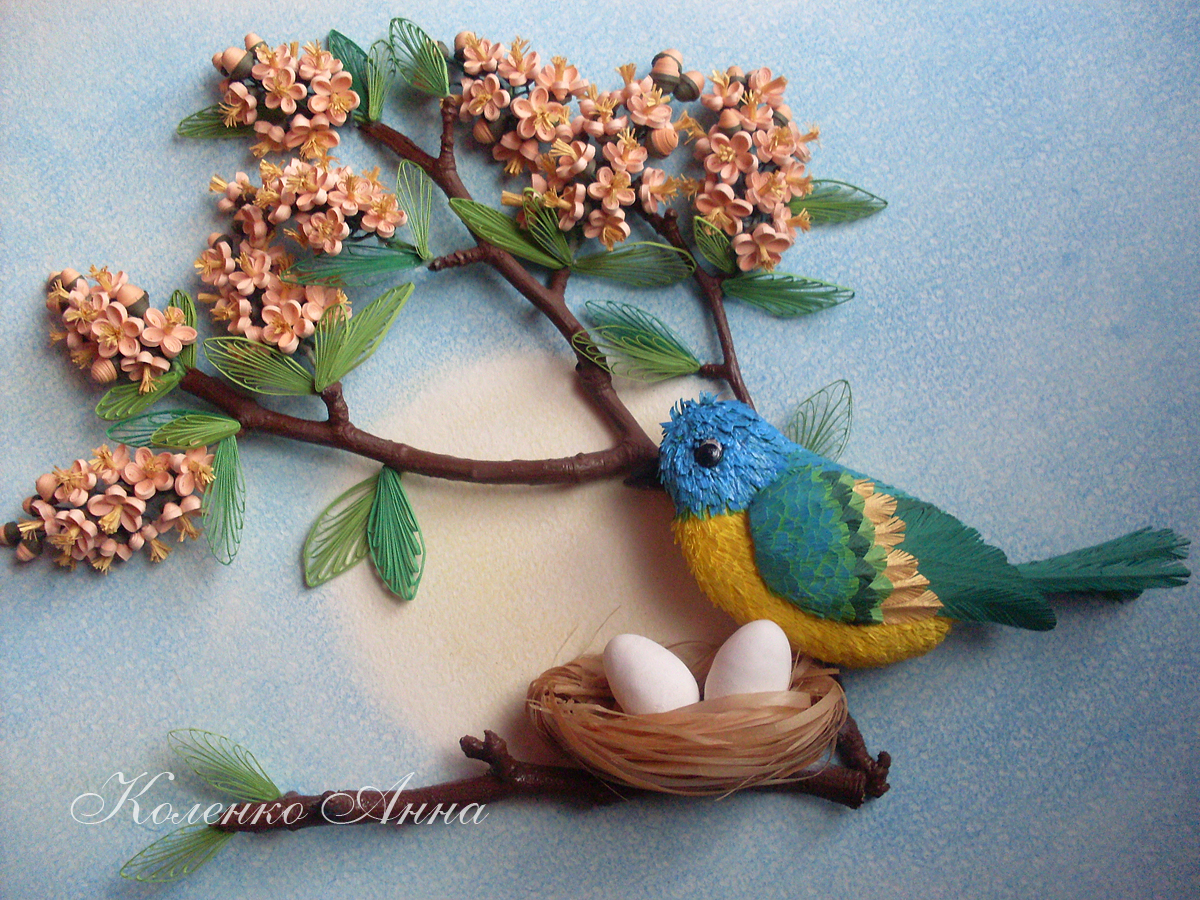 1000 Images About Quilling Birds On Pinterest Quilling