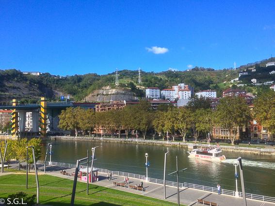 Restaurante Baita Gaminiz. Vistas desde la terraza. Bilbao