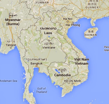 Mapa - guía para viajar a Vietnam