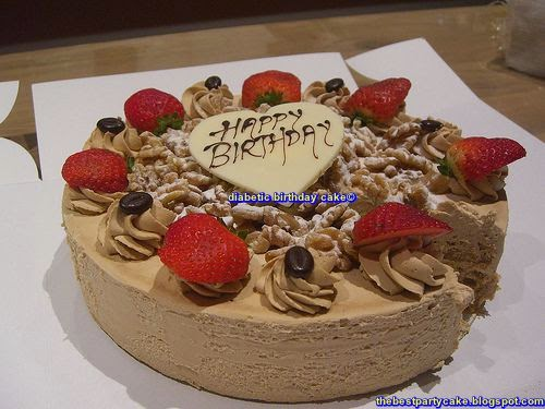Delicious Healthy Recipe For Diabetic Birthday Cake