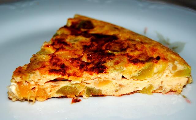 Tortilla de Calabacines. Receta