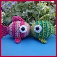 Amigurumis peces de colores