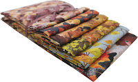 Frosted fall fat Quarter pack