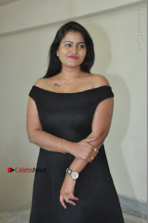 Telugu Actress Swathi Reddy Latest Stills in Black Gown  0029.JPG