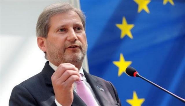 EU-Kommissar Hahn fordert schnelle Namensänderung im mazedonischen Parlament
