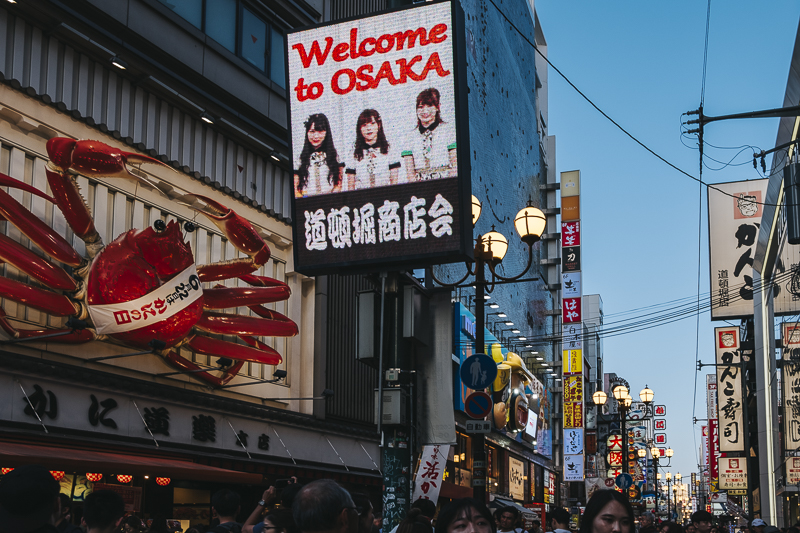 Dotonbori, Osaka, Japan, Japon
