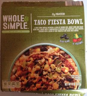 Whole & Simple Taco Fiesta Frozen Protein Bowl, from Aldi