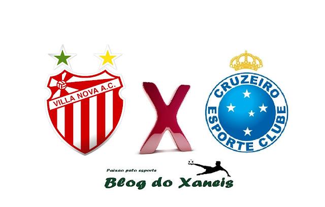 Villa Nova-MG x Cruzeiro  Campeonato Mineiro
