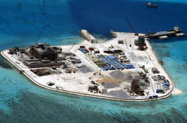 Tiongkok pasang peluru kendali di Laut China Selatan