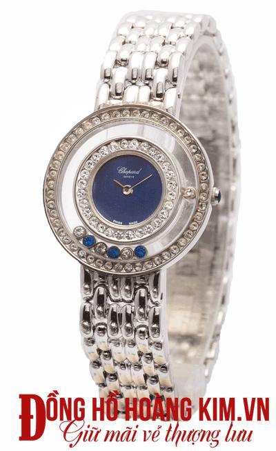 mua đồng hồ nữ chopard dây sắt