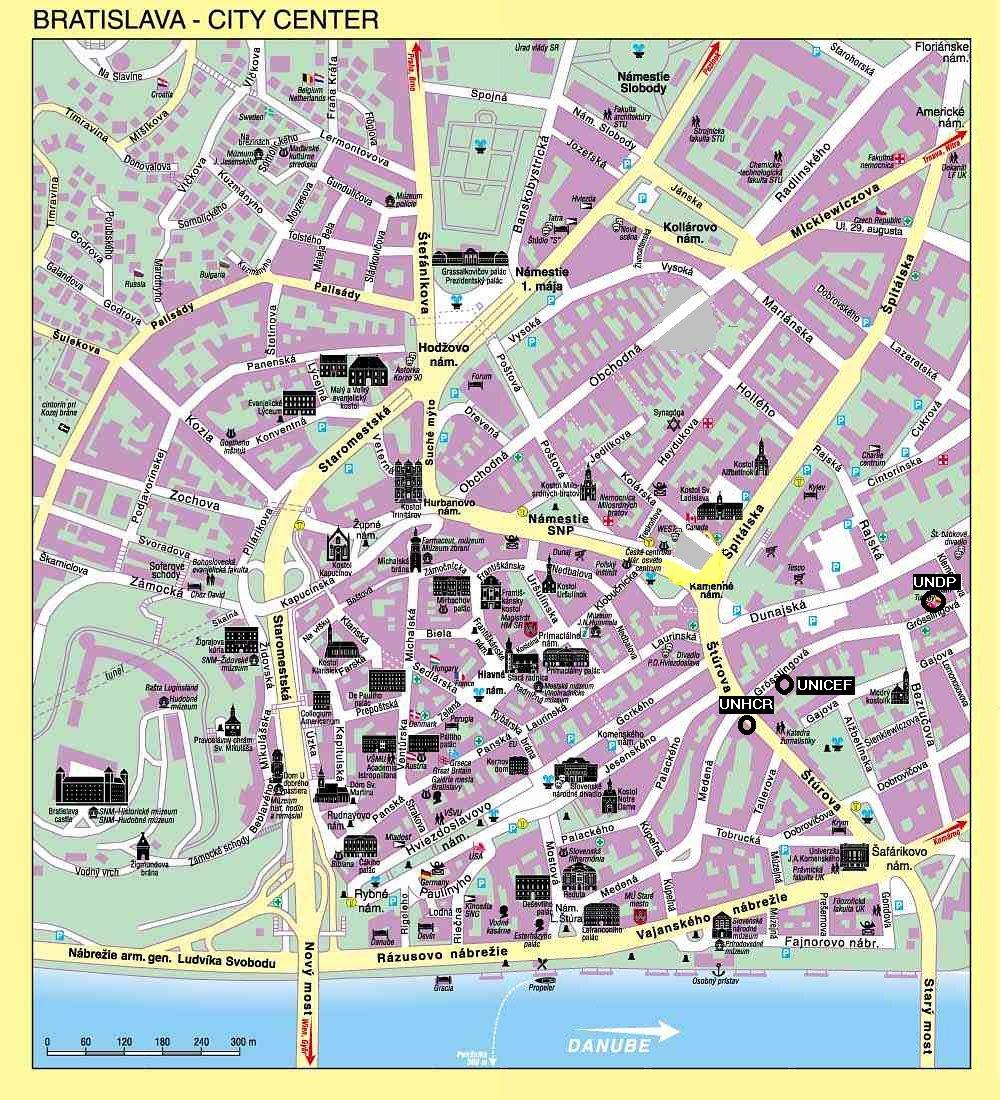 Mapas De Bratislava Eslovaquia Mapasblog